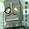 sd_admin: Marvin the Paranoid Android, looking dapper with a mustache and monocle, he is modbot (Jolly Good)
