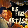 objectivelypink: Dean/Castiel Big Bang Artist (dean/cas bb)