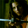 liviconnor: Cordelia, from Buffy the Vampire Slayer, looking at you through the sights of a crossbow (Crossbow Cordy)