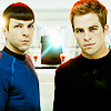 sarnath: Reboot Kirk and Spock (Kirk and Spock side by side)