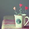 saikou: (misc • starbucks • love mug)