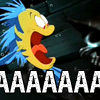 "arethinn: Flounder from The Little Mermaid, screaming, text ""AAAAAA"" (scared (flounder aaa))"