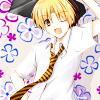 hostilecrayon: Hikaru in Touya's tie with a briefcase. (Hikaru Goes Business)