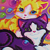 spiritsvanished: (lisa frank, cats)