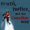 wychwood: Fraser flies for truth, justice, and the Canadian way (due South - Fraser Canadian way)