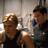 lizziec: (BSG - Apollo & Starbuck crutches (Six De)