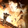 lizziec: (BSG - resurrection ship explosion (viper)