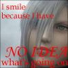 ambersweet: Kadaj smiles because he has no idea what's going on. (Kadaj has no idea.)