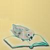queenlua: A mourning dove (Nageki) reading a book. (Nageki Reading)
