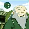 aralias: (iroh is happy)