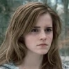 alt_hermione: Hermione outside and unhappy (Sad)