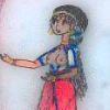 minoanmiss: Minoan maiden, singing (Singing Minoan Maiden)