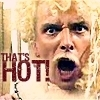lysanatt: (Blackadder: Lord Flasheart: That's hot!)