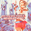 "laceblade: Ashe from FF XII, looking at viewer over her shoulder. Text reads: ""So you say you want a revolution?"" (FFXII: You say you want a revolution)"