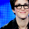 aximili: Rachel Maddow with glasses. (Political: Rachel Maddow Blue and Glasse)