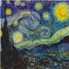 "lefaym: Vincent van Gogh's ""Starry Starry Night"" (starry starry night, van gogh)"