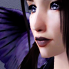 cobaltazure: Sim version of Lily Azure (sims: crow eyes)