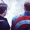 serrure: (CA: Steve/Bucky: Poster boys for DADT)