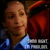 wychwood: Elaine says damn right, she's fabulous (due South - Elaine fabulous)