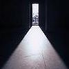 auburn: lit up doorway illustrating vanishing point (Doorway)