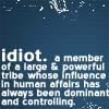 auburn: (Idiot)