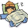 rhia_starsong: chibi!john asleep (chibi!sleepy john)