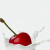 auburn: (Cherry Milk)