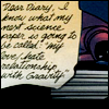 """labellementeuse: Spoiler's diary: 'I know what my next science report is going to be called: """"my love-hate relationship with gravity"""".' (comics my love-hate relationship with gr)"""