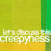 """tricolore: Jeff: """"Let's discuss this creepyness."""" (tv: commnity quote)"""