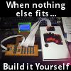 dawnmist: My homebuilt gaming keyboard - version 1 (DIY)