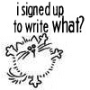 waywren: (I'm writing WHAT?)
