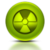 ladyradium: radiation symbol (radiation)