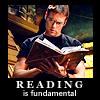 mecurtin: Daniel agrees reading is fundamental (reading)