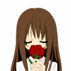 rosecolored: (a single red rose)