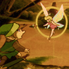 erin_c_1978: Image from the original Legend of Zelda player's manual; Link meets a fairy at a spring (fairy, link, legend of zelda)