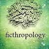 elanya: magnetic poetry with ficthropology title (ficthropology)