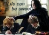 therealsnape: (Life can be sweet)