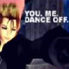 passkey: Demyx from Kingdom Hearts: Text: You, me dance off (Dance)