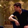 anshin: RDJ as Tony Stark on one knee and looking disgruntled. (tony kneeling)