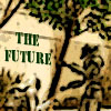futuransky: Centurion from BSG with THE FUTURE on a wall, (centurion future)