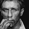 ponderosa: portrait of daniel craig smoking (bond - smoking hot)