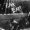futuransky: from BSG, graffiti of FRAK EARTH on Galactica's wall (frak earth)