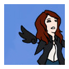 scaramouche: Anna from Supernatural in cartoon form (spn: anna cartoon)