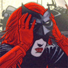 labellementeuse: Kate Kane (Batwoman) taking off her mask (comics kate demasking)