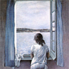 la_samtyr: from painting by Dali (girl at window)