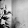 auburn: close up John and Rodney's faces, intimate (John & Rodney B&W)