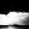 auburn: distant atlantis b&w silhouette and clouds (B&W Atlantis)