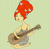 alicia_h: (Rosemary Hope, red hair, guitar, 60s girl)