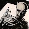 """zing_och: Batgirl (Cassandra Cain) making a """"talk"""" gesture (talk)"""
