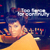 janice_lester: Uhura: too fierce for continuity (Too fierce for continuity, Uhura: too fierce for continuity)